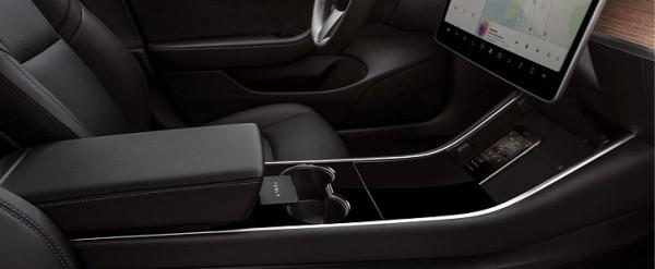 New Tesla Model 3 Interior Shots Look Yummy - autoevolution