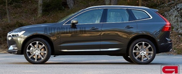 2018 Volvo XC60 Leaked, Looks Sharper Than The XC90 - autoevolution