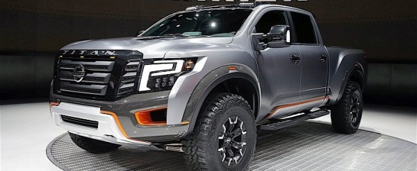 Nissan Titan Warrior Concept Debuts In Detroit With Loads Of