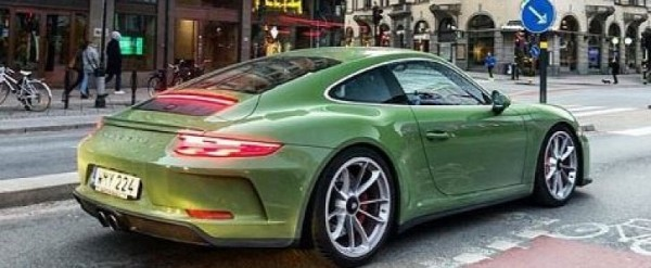 Olive Green 2018 Porsche 911 Gt3 Touring Package Begs For