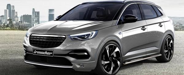 2018 Opel Grandland X Gets The Tuning Treatment From Irmscher
