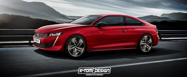 Peugeot 508 Coupe Rendering Doesn\'t Look As Good As Sedan ...