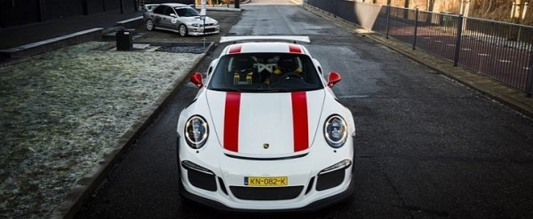 Mixed Race Porsche 911 GT3 RS Proudly Displays Its 911 R Stripes