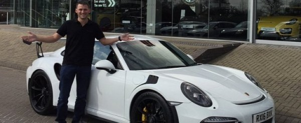 Porsche Driver Nick Tandy Receives 911 Gt3 Rs He Ordered After 2017 Le Mans Win