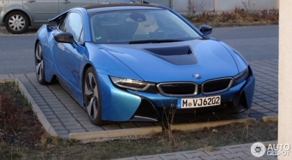 Protonic Blue Bmw I8 Spotted In Germany Autoevolution