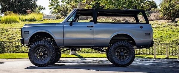 Raised 1972 Chevrolet Blazer K5 Owned by Travis Barker Is ...
