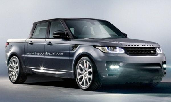 Land Rover Truck >> Range Rover Sport Pickup Truck Rendered Autoevolution