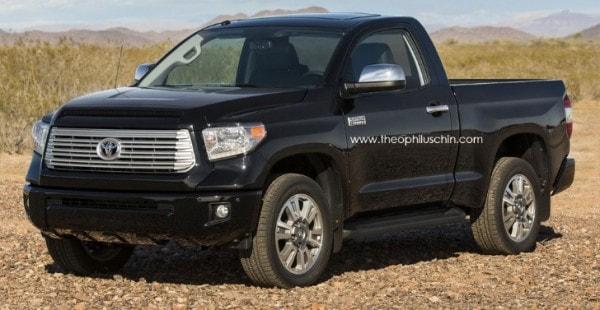 Redesigned 2017 Toyota Tundra Pickup