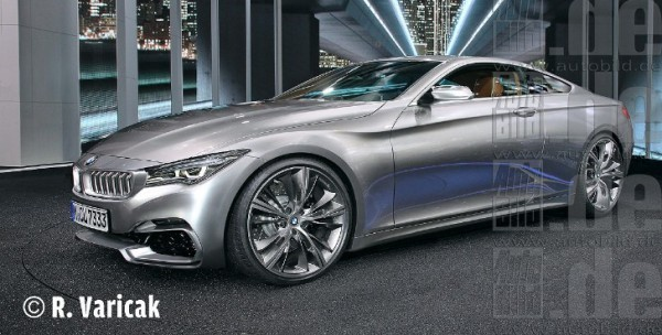 Rendering: 2018 BMW 6 Series Coupe - autoevolution