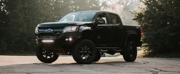 Lifted Chevy Colorado >> Rocky Ridge Chevrolet Colorado K2 Features Six Inch
