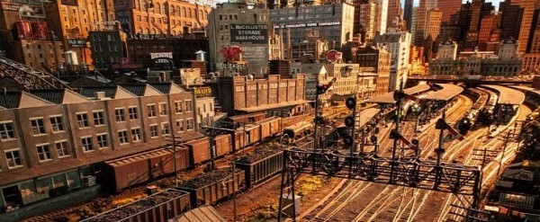 Motor City Auto >> Rod Stewart Unveils Massive Model Railway City He Built in 26 Years - autoevolution
