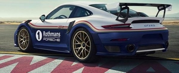 What Is A Livery Vehicle >> Rothmans Livery 2018 Porsche 911 GT2 RS Is a Racing Wrap ...