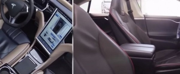Russian Tesla Owner Overhauls Model S Interior with BMW Parts