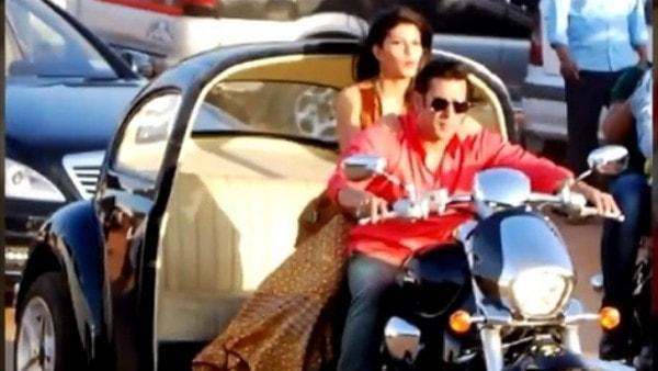 Salman Khan Is Riding Suzuki Bikes in His Latest