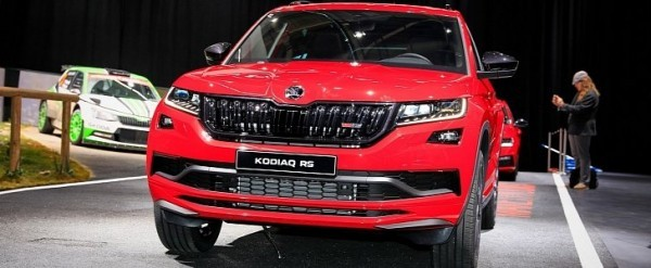 shocking skoda kodiaq rs costs 50 000 too much for 240 hp autoevolution. Black Bedroom Furniture Sets. Home Design Ideas