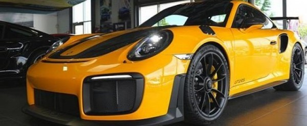 Signal Yellow 2018 Porsche 911 Gt2 Rs Is Not Your Average Taxi Autoevolution