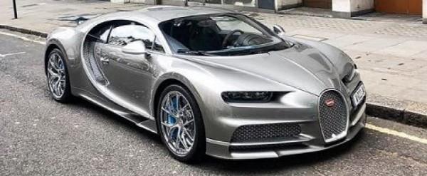 Bugatti Chiron Sport Shows Liquid Silver Spec, Has Blue Accents