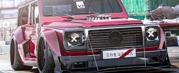 Slammed Mercedes G-Class Looks Like a Racecar, Has