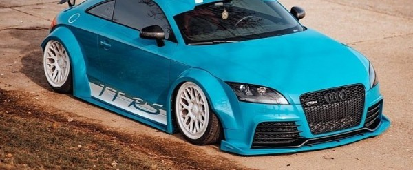 Slammed Mk2 Audi Tt Rs Like An Indecent