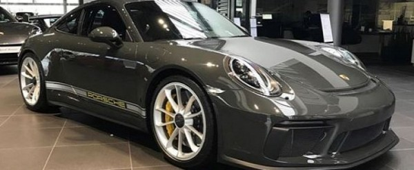 Slate Grey 6601 2018 Porsche 911 Gt3 Is Secretly Green