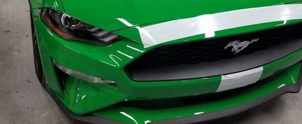 Spinel Green 2019 Ford Mustang Photographed Inside Factory, Looks Amazing - autoevolution