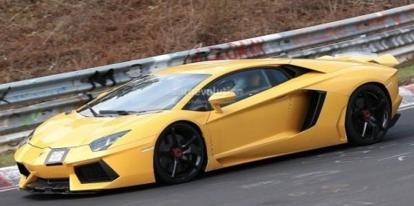 Spyshots 2015 Lamborghini Aventador Sv Autoevolution