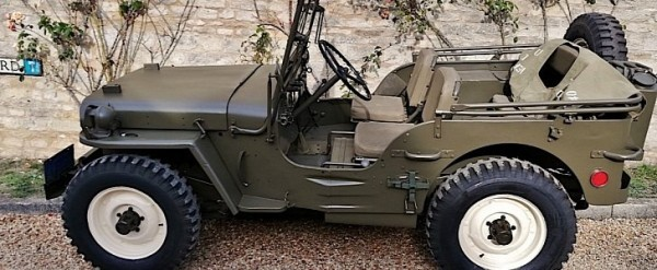 Willys Military Jeep Sale >> Steve Mcqueen S Military 1945 Willys Jeep Mb For Sale At