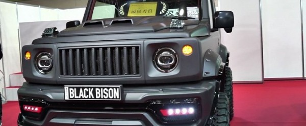 Suzuki Jimny Black Bison By Wald Is Tougher Than A G Class