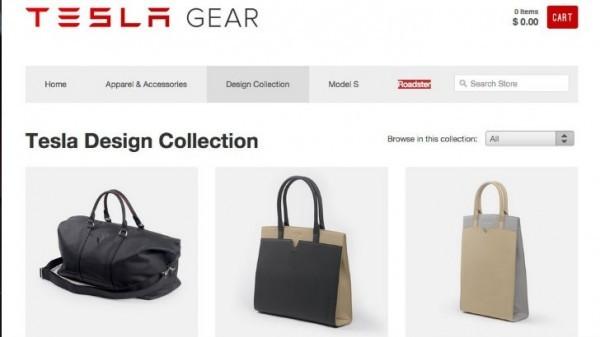 c64a22dc0 Tesla Gear Website Fires Up