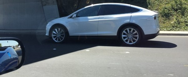 Tesla Model X Spotted with Huge Panel Gaps, Is Tesla Testing