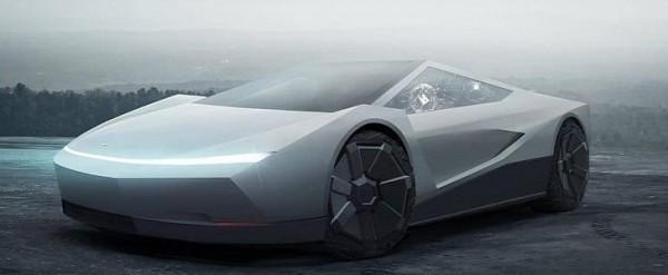 Tesla Roadster Quot Alternative Quot Has Cybertruck Styling Looks