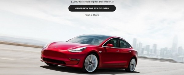 tesla will cover federal tax credit difference on cars not delivered before 2019 autoevolution. Black Bedroom Furniture Sets. Home Design Ideas