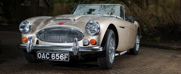 The Last Austin Healey 3000 Mk Iii Ever Produced Heads To Auction