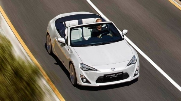 Toyota Ft 86 >> The Toyota Ft 86 Open Top Concept Is Better Than A Miata