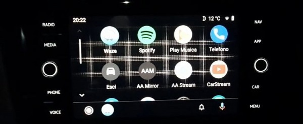 This Customized Android Auto Has New Cool Wallpapers And You Can Get Them Too Autoevolution