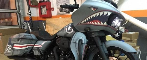 Harley Davidson Shark Nose Fairing For Sale