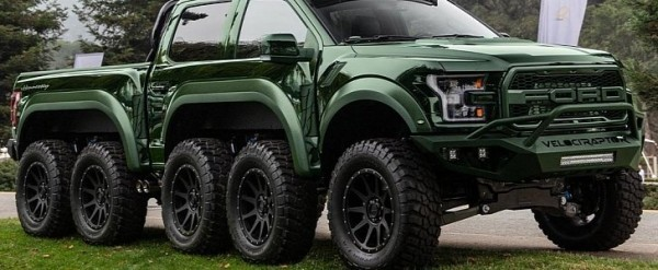 This Hennessey Velociraptor Rendering Has Wheels For Days