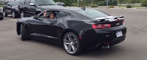 The First 2016 Chevrolet Camaro Ss For