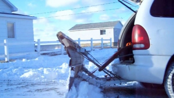 This Is the Craziest DIY Snowplow You