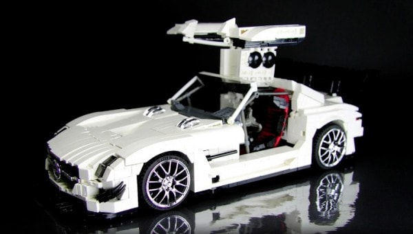 This Lego Technic Sls Amg Gt3 Is All Kinds Of Awesome Autoevolution