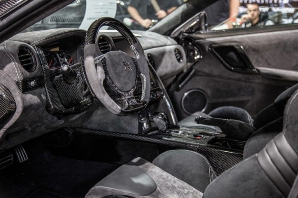 Nissan Gtr Interior >> This Nissan Gt R Interior Has So Much Alcantara It Burns