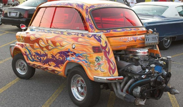This V8 Has A Bmw Isetta Attached To It Autoevolution