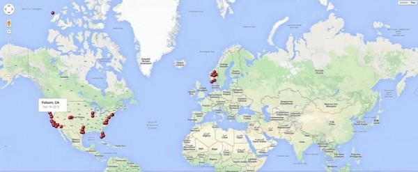 Timelapse Animation Shows Tesla Supercharger Rise Around the World ...