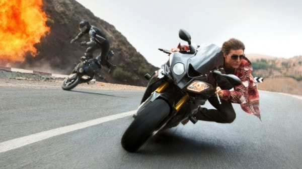 Tom Cruise Rides A Bmw S1000rr In The Mission Impossible 5 Rogue