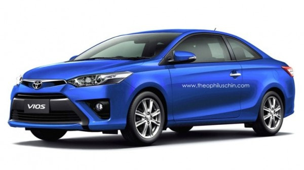 Toyota Vios Rendered As Budget Coupe Autoevolution