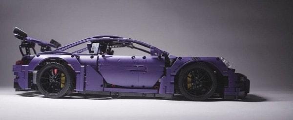 Ultraviolet Blue Lego Technic Porsche 911 Gt3 Rs Finally
