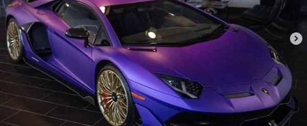 Viola Nebula Lamborghini Aventador Svj Looks Bewitching Has Gold