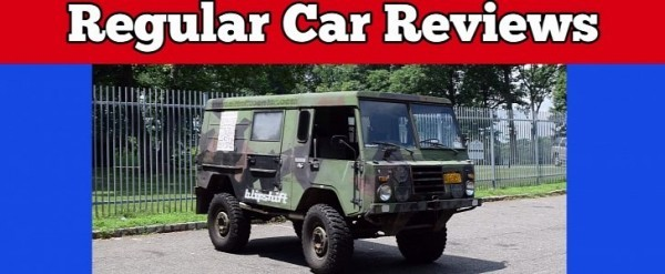 Volvo C303 Military Vehicle Gets Air Time On Regular Car Reviews