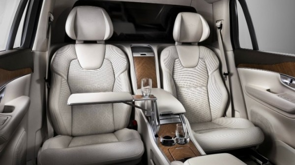 Volvo Unveils XC90 Excellence 4-Seat Luxury SUV for Chinese Market