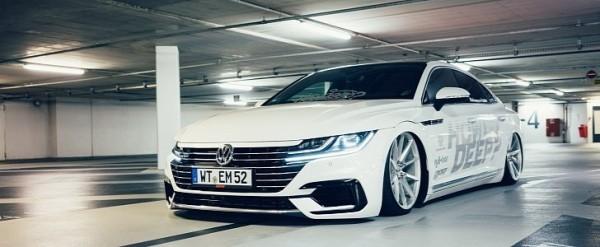 VW Arteon by How Deep? Rides on Vossen Wheels - autoevolution on audi turbo, audi exhaust, audi seat, audi motor, audi auto, audi coupe,